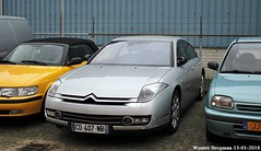 Citroën C6 3.0 V6 HDi automatic (2012) (XBXG) Tags: cd407nb citroën c6 30 v6 hdi automatic 2012 citroënc6 bva automatique gris gjo nieuwjaarsreceptie 2018 garage johan oldenhage tarwestraat nieuw vennep nieuwvennep nederland holland netherlands paysbas french car auto automobile voiture française vehicle outdoor