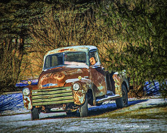 January Thaw!               ....HTT! (jackalope22) Tags: htt truck heap rust january thaw
