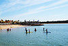 Time to lose some kg after the holidays !! (riahostelalvor) Tags: sup beach watersports algarve alvor portugal