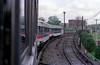 3-Car train of Brill Bullets 5-7-89 106 (jsmatlak) Tags: brill bullet pw philadelphia western interurban electric railway septa norristown train