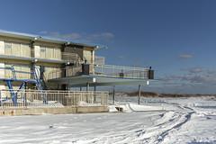 Attache Resort Motel. (stevenbley) Tags: wildwood wildwoodcrest northwildwood nj newjersey beach winter snow offseason hotel motel january shore jerseyshore midcentury attache attacheresortmotel