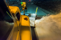 @20180112-D5 PlowingUS33-92 (OhioDOT) Tags: district5 odot plow ridealong route33 salt six snow storm plowing truck
