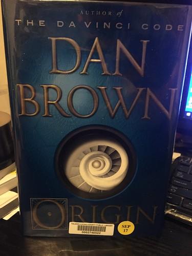 Dan Brown book fan photo