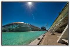 Valencia Ciutat de les Arts i les Ciencies (franco54im) Tags: cielo acqua valencia arts ciencies irix 15mm d800e hdr