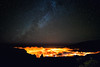 Above the City (free3yourmind) Tags: above city lights light pollution clouds cloudy cover night sky stars milky way dark skies lapalma canary islands sant cruz