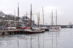 Oslofjord frozen, Norway (Ingunn Eriksen) Tags: oslofiord oslofjorden oslo norway winter ice fjord boat nikond750 nikon