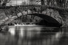 Exploring Near Aylesbury: Eythrope Bridge (steven.clennell) Tags: aylesbury buckinghamshire exploreaylesbury eythrope longexposure midshiresway nisifilters riverthame waterfall thame valley walk