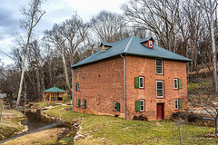 Cox's Mill (Back Road Photography (Kevin W. Jerrell)) Tags: oldbuildings mills gristmills jeffersoncounty jeffersoncity tennessee backroadphotography historic daysgoneby nikond7200 restored