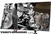 TEMPI MODERNI (ADRIANO ART FOR PASSION) Tags: tempimoderni moderntime robot ingranaggi meccanismi oliatore chiaveinglese profilo bn bw sepia operaia automa lavoro work worker taglistrani adrianoartforpassion photoshop fotomontaggio photoshopcreativo