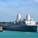 USS San Diego arrives in Guam for a scheduled port visit