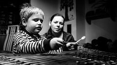 Dulcimer lesson (I.Dostál) Tags: lesson music dulcimer teacher child kid
