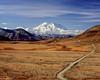 Denali in Denali NP (Dean OM) Tags: mount denali national park np mountain tundra landscape scenic olympus om om4ti 50mmf2 fuji velvia 50 velvia50 film analogue