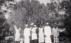 In Dar es Salaam Tanzania Sept 1958 (Bury Gardener) Tags: blackandwhite bw oldies old vintage 1950s 1958 snaps scans africa tanzania