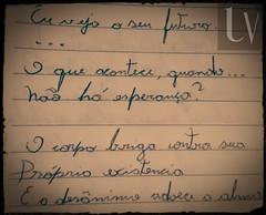 eu vejo o seu futuro verso (ludus.poeta) Tags: depressão sad sadness triste tristeza verso poema amor ludverso