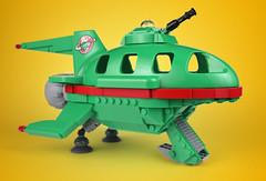 Duplorama (aido k) Tags: lego duplo futurama planet express ship