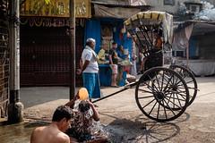 (Jpierrel) Tags: ixt fuji fujifilm xt1 inde india calcutta kolkata street rue fujifilmxt1 xf1855mmf284