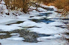 Beaver River in Winter (CCphotoworks) Tags: seasons weather cold river snow landscape february winter ontario beaverton