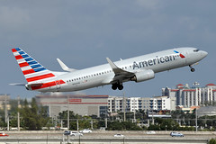 N904AN  B737-823(WL)  American Airlines (n707pm) Tags: n904an boeing 737 737800 737wl airport airplane aircraft airline aal fll americanairlines kfll fortlauderdale 04022018 usa florida cn29506 fortlauderdalehollywood