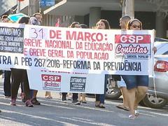 Divinópolis tem mais um ato contra reformas Trabalhista e da Previdência (portalminas) Tags: divinópolis tem mais um ato contra reformas trabalhista e da previdência