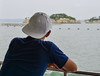 A young man looking at the ocean (phuong.sg@gmail.com) Tags: adult alone asian back beach black calm candid copy deciding decisions gazing horizon horizontal hunched looking male man one peace peaceful person pondering rear relaxing ripples rural sand sea shore sitting space still thinking thoughtful tranquil tranquility water white wondering young
