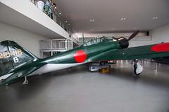 Mitsubishi Zero (Koku85) Tags: fighter aviation aircraft museum japan worldwar2