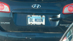 CT - BL MOON (blazer8696) Tags: 2018 blmoon beaverbrook ct connecticut danbury ecw t2018 usa unitedstates blue bluemoon license moon plate vanity dscn2672 hyundai santafe rteus007 rteus202