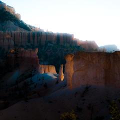 In Canyons 190 (noahbw) Tags: brycecanyon d5000 nikon utah autumn canyon desert erosion hills hoodoos landscape light natural noahbw quiet rock shadow square still stillness stone sunlight