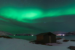 Borealism (Balthus Van Tassel) Tags: northern lights auroraborealis northernlights tromso norway arctic night arcticcircle arcticnight seascape
