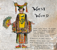 West Wind Costume Design (detail) (Madison Historical Society (CT-USA)) Tags: madisonhistoricalsociety madisonhistory mhs madison conn connecticut ct connecticutscenes country usa newengland nikon nikond600 d600 bobgundersen old historical history museum jitneyplayers woodlandgardenplays barntheatre theplaybarn interesting image outside outdoor exterior photo picture places people performer costume shoreline shot scene scenes bostonpostroad route1 flickr design art constancegrenellewilcox constancewilcoxpignatelli princess alicekeatingcheney