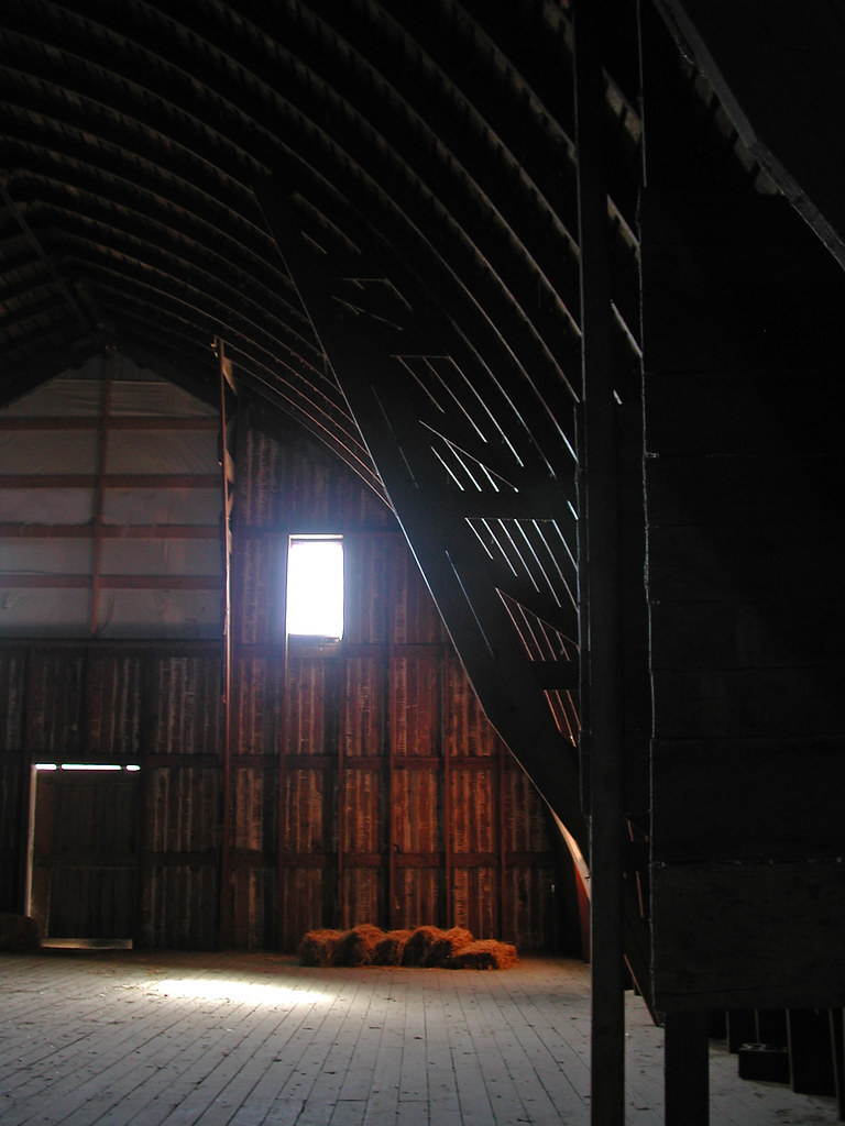 Like Being Inside A Whale LivGreen07 Tags Barn Gothic Arch Farm Building Wood