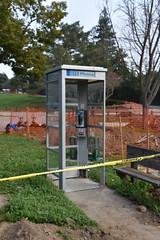 DSC_4435 (earthdog) Tags: 2018 needstags needstitle nikon d5600 nikond5600 18300mmf3563 phone payphone phonebooth losgatos losgatoscreektrail
