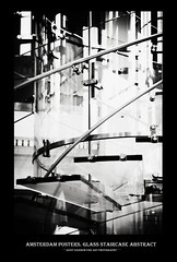 Amsterdam Posters. Glass Staircase Abstract by Jenny Rainbow (Jenny Rainbow (jenny-rainbow.pixels.com)) Tags: jennyrainbowfineartphotography amsterdam thenetherlands holland blackadwhitephotography stairs stairway glassstair glassstaircase glass reflections interior interiordetails abstract abstractphotography light shadows metal fineart amsterdamhouses amsterdamarchitecture amsterdamstreets streetphotography amsterdambuildings citylife amsterdamlife amsterdamstyleoflife city black dutchstyle stylishart artforhome white street lifestyle design