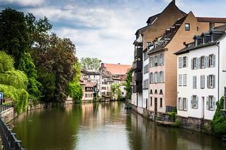 Le calme de Strasbourg.