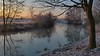 mystic morning (Nicola G. Fotografie) Tags: winter kalt deutschland nrw lippe fluss wasser landschaft natur sonnenaufgang ufer nebel frost kälte water river germany morning mist fog cold nature sunrise