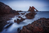 Early Night (Augmented Reality Images (Getty Contributor)) Tags: portknockie bowfiddlerock coastline landscape sunset scotland cliffs water waves seascape canon longexposure morayfirth rocks unitedkingdom gb nisi filters nisifilters
