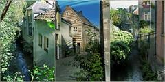 Sur les remparts de Maastricht, Limbourg, Nederland, Pays-Bas (claude lina) Tags: claudelina holland paysbas nederland limbourg limburg maastricht canaux maison house