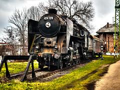 424_extreme_toning (Dreamaxjoe) Tags: gozmozdony 424steamlocomotive steam locomotive 424 bivaly celldömölk