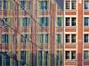 Diagonales stoppées / Stopped diagonals (mcastonguay60) Tags: architecture reflet montréal québec canada diagonales