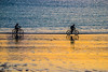 Last Ride Of The Day (jeffcoleman372) Tags: silhouette riding light bikes water beach sea sunset