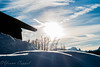 big sun ! (yoann coppel) Tags: french france hautesavoie hiver winter europe sun soleil mountains montagne sky skyporn nikon samyang