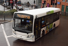 CB YX17NYV @ Moor Street Queensway, Birmingham (ianjpoole) Tags: claribel coaches alexander dennis enviro 200 yx17nyv working route 424 upper dean street birmingham haddon road perry beeches