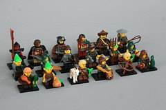 The People of Alnya (jsnyder002) Tags: lego cmf series collectible minifigure goh guilds of historica dwelfs adventurers