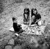 les enfants (gguillaumee) Tags: film analog grain rolleiflex mediumformat fujineopanacros kids children lozere portraits bw blackandwhite noiretblanc country