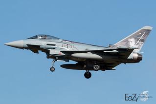 31+31 German Air Force (Luftwaffe) Eurofighter Typhoon