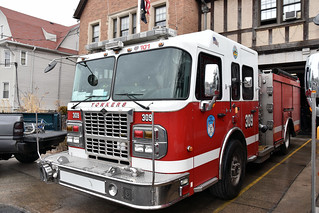 Picture Of City Of Yonkers New York Engine Company 309 At 53 Shonnard Place In Yonkers New York. This Is A 2010 Smeal Fire Truck. Picture taken Saturday February 10, 2018