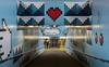 Thorildsplan Metro Station, Stockholm (PriscillaBurcher) Tags: thorildsplan thorildsplanmetrostation metrostation lars arrhenius stockholm sweden l1030751