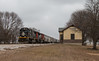 Pesotum Kingdom (Jake Branson) Tags: train railroad locomotive emd sd70 illinois il central champaign cn station depot pesotum deathstar
