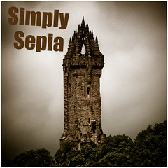 Simply Sepia (FotoFling Scotland) Tags: scotland wallacemonument stirling explore sepia