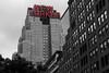 New Yorker Building Sin City Style (OnTheRoadAgainBlog) Tags: newyorkcity newyork usa us america eastcoast newyorker building architecture design blackwhite sincity canon 700d