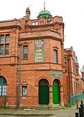 Salford Lads Club, Salford, UK (Robby Virus) Tags: manchester england uk unitedkingdom britain greatbritain salford lads club smiths morrissey boys social architecture building